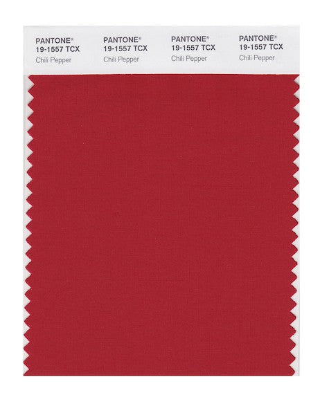 2007 Pantone Color of the Year - Chili Pepper 19-1557