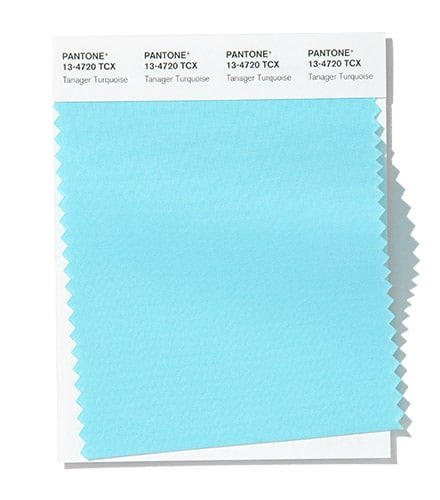 Pantone Tanager Turquoise