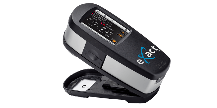 A 45 degree spectrophotometer from X-rite