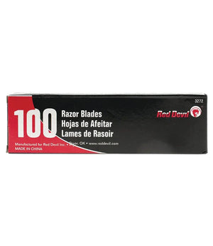 Razor Blades Single Edge (Pack of 100)
