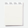 Pantone Polyester Swatch Card 11-0102 TSX Marshmallow Cr?me