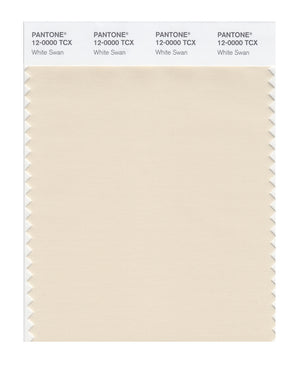 Pantone SMART Color Swatch 12-0000 TCX White Swan