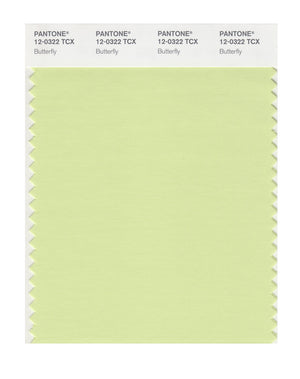 Pantone SMART Color Swatch 12-0322 TCX Butterfly