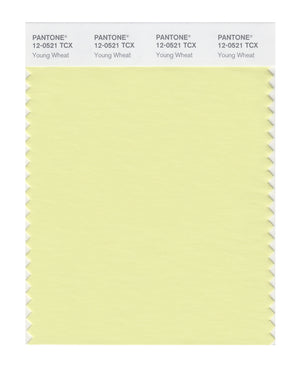 Pantone SMART Color Swatch 12-0521 TCX Young Wheat