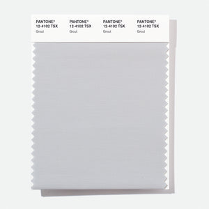 Pantone Polyester Swatch Card 12-4102 TSX Grout