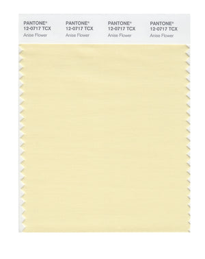 Pantone SMART Color Swatch 12-0717 TCX Anise Flower