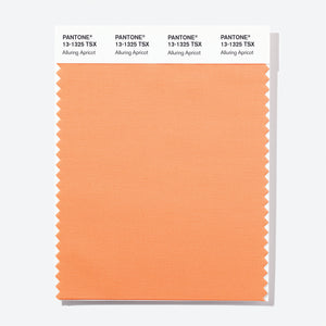 Pantone Polyester Swatch Card 13-1325 TSX Alluring Apricot