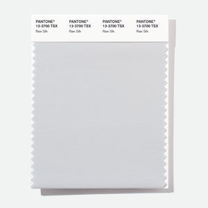 Pantone Polyester Swatch Card 13-3700 TSX Raw Silk