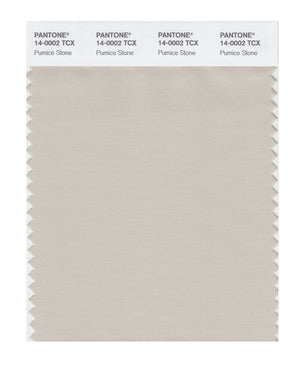Pantone SMART Color Swatch 14-0002 TCX Pumice Stone