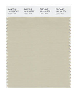 Pantone SMART Color Swatch 14-0108 TCX Castle Wall