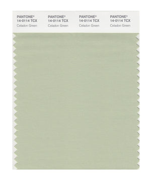 Pantone SMART Color Swatch 14-0114 TCX Celadon Green