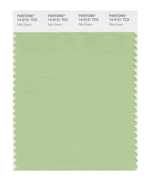 Pantone SMART Color Swatch 14-0121 TCX Nile Green