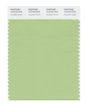 Pantone SMART Color Swatch 14-0123 TCX Arcadian Green