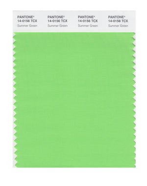 Pantone SMART Color Swatch 14-0156 TCX Summer Green