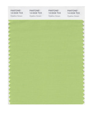 Pantone SMART Color Swatch 14-0226 TCX Opaline Green