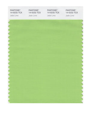 Pantone SMART Color Swatch 14-0232 TCX Jade Lime