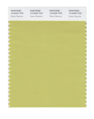 Pantone SMART Color Swatch 14-0434 TCX Green Banana