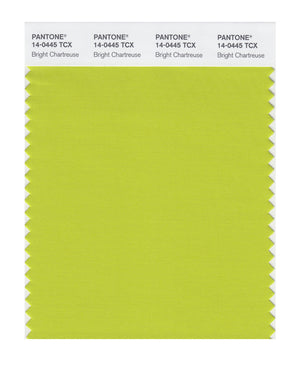 Pantone SMART Color Swatch 14-0445 TCX Bright Chartreuse