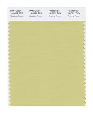Pantone SMART Color Swatch 14-0627 TCX Shadow Green