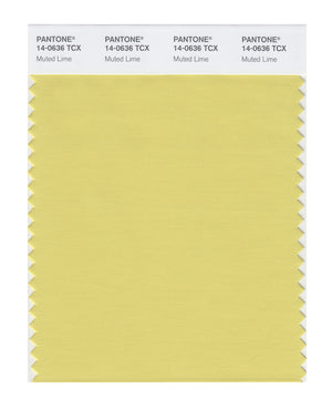 Pantone SMART Color Swatch 14-0636 TCX Muted Lime