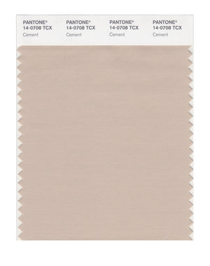 Pantone SMART Color Swatch 14-0708 TCX Cement