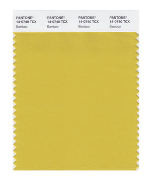 Pantone SMART Color Swatch 14-0740 TCX Bamboo