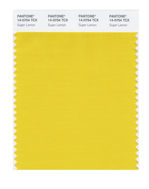 Pantone SMART Color Swatch 14-0754 TCX Super Lemon