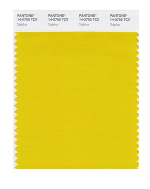 Pantone SMART Color Swatch 14-0755 TCX Sulphur
