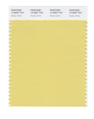 Pantone SMART Color Swatch 14-0827 TCX Dusky Citron