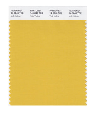 Pantone SMART Color Swatch 14-0846 TCX Yolk Yellow