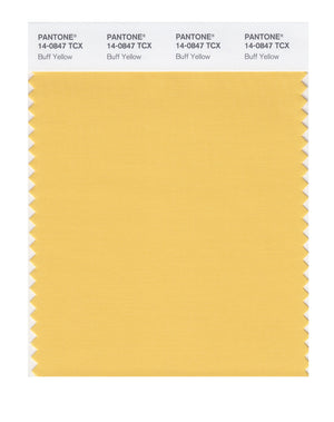Pantone SMART Color Swatch 14-0847 TCX Buff Yellow