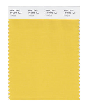 Pantone SMART Color Swatch 14-0848 TCX Mimosa