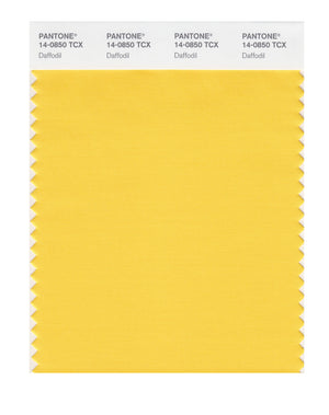 Pantone SMART Color Swatch 14-0850 TCX Daffodil