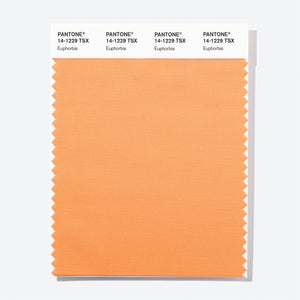 Pantone Polyester Swatch Card 14-1229 TSX Euphorbia