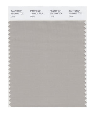 Pantone SMART Color Swatch 15-0000 TCX Dove