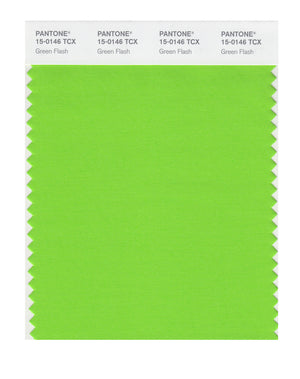 Pantone SMART Color Swatch 15-0146 TCX Green Flash