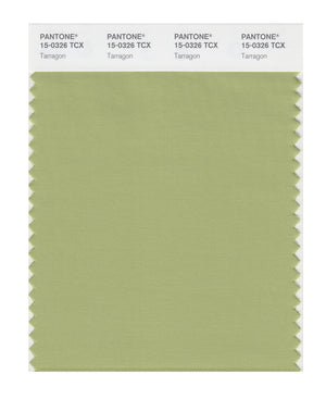 Pantone SMART Color Swatch 15-0326 TCX Tarragon