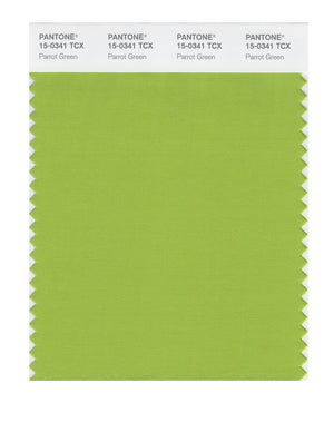 Pantone SMART Color Swatch 15-0341 TCX Parrot Green