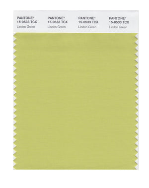 Pantone SMART Color Swatch 15-0533 TCX Linden Green