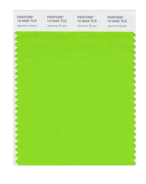 Pantone SMART Color Swatch 15-0545 TCX Jasmine Green