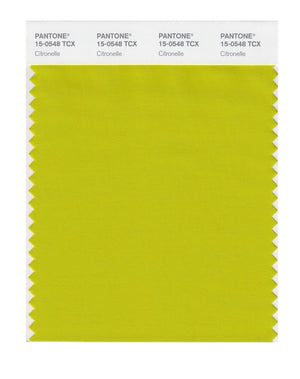 Pantone SMART Color Swatch 15-0548 TCX Citronelle