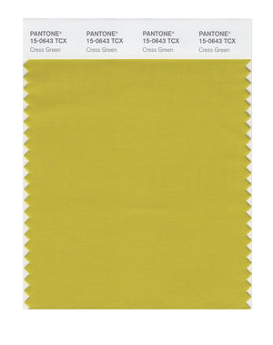 Pantone SMART Color Swatch 15-0643 TCX Cress Green
