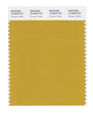 Pantone SMART Color Swatch 15-0948 TCX Chinese Yellow
