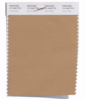 Pantone SMART Color Swatch 15-1040 TCX Iced Coffee