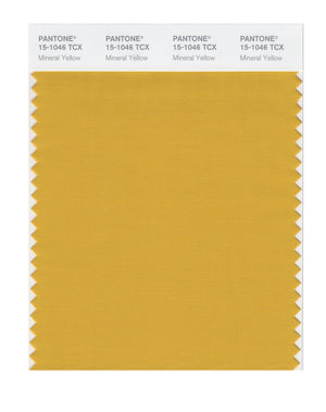 Pantone SMART Color Swatch 15-1046 TCX Mineral Yellow