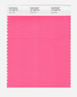 Pantone Nylon Brights Color Swatch 16-1650 TN Diva Pink