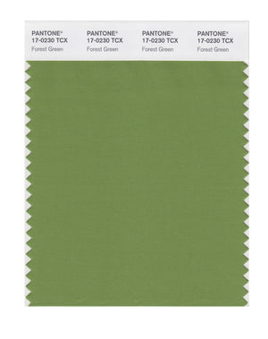 Pantone SMART Color Swatch 17-0230 TCX Forest Green