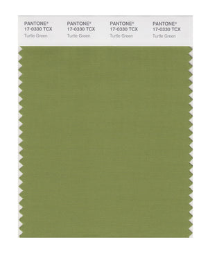 Pantone SMART Color Swatch 17-0330 TCX Turtle Green