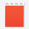 Pantone Polyester Swatch Card 17-1363 TSX Exuberant Orange