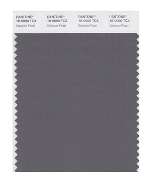 Pantone SMART Color Swatch 18-0000 TCX Smoked Pearl